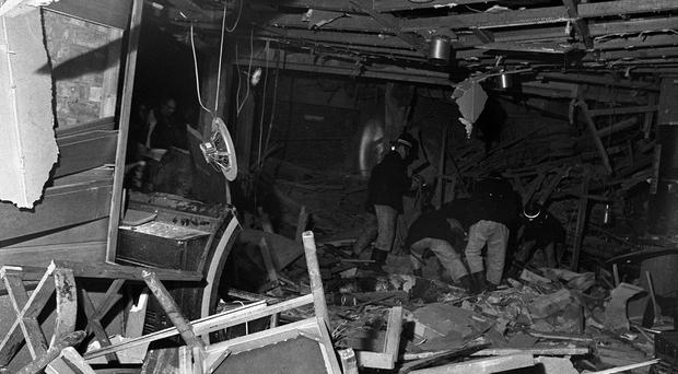 Twenty-one people were killed and 182 injured when the suspected IRA bombs exploded in two city centre pubs in 1974