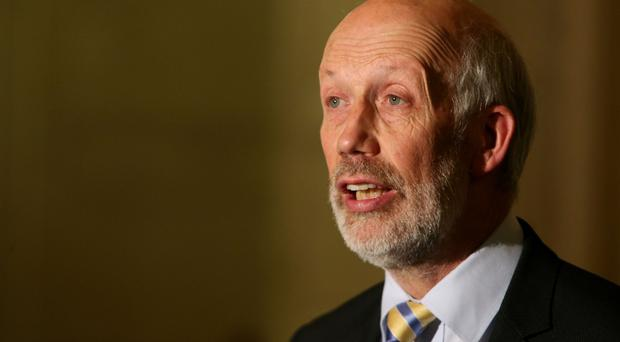 Justice Minister David Ford has said the number of people in custody for not paying fines is