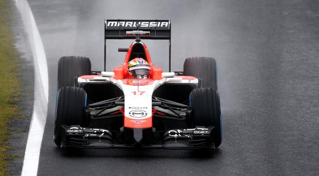 Jules Bianchi of Marussia drives during the Japanese Formula One Grand Prix at Suzuka last year