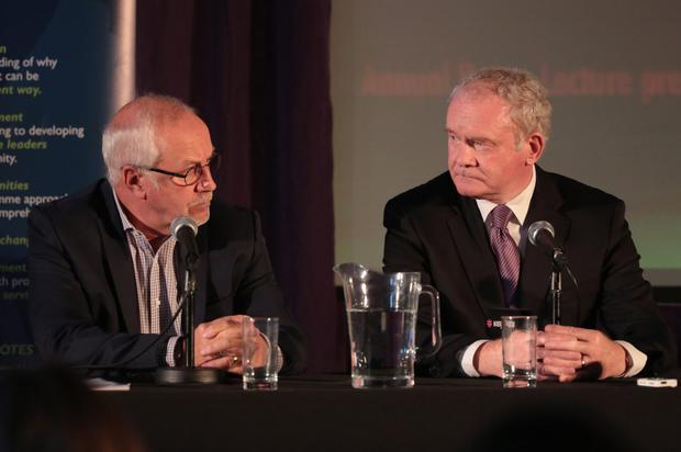 Colin Parry forged a relationship with Martin McGuinness