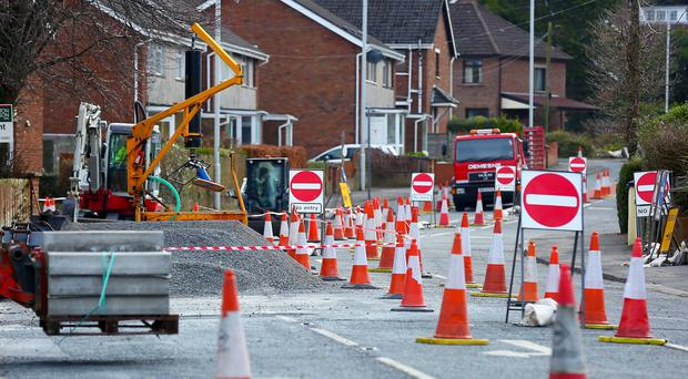 Residents claim roadworks at Gilnahirk have brought chaos