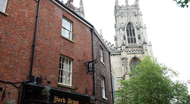 Travellers say York is the safest city in which to take a break