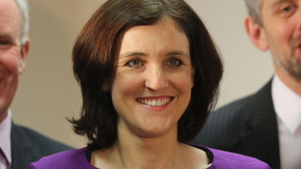 Theresa Villiers said the Government would not offer any money to resolve a dispute between Sinn Fein and the Democratic Unionists over top-up payments