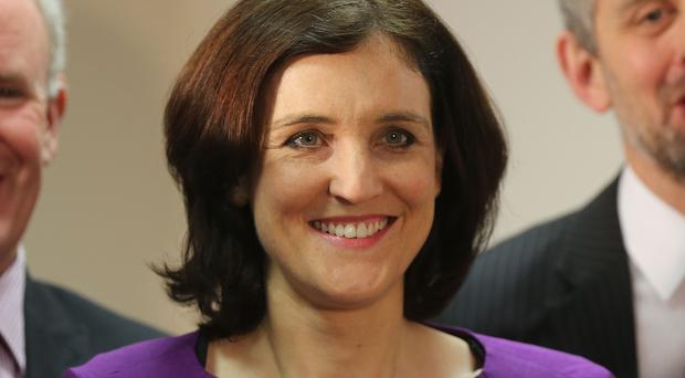 Theresa Villiers said the Government would not offer any money to resolve a dispute between Sinn Fein and the DUP