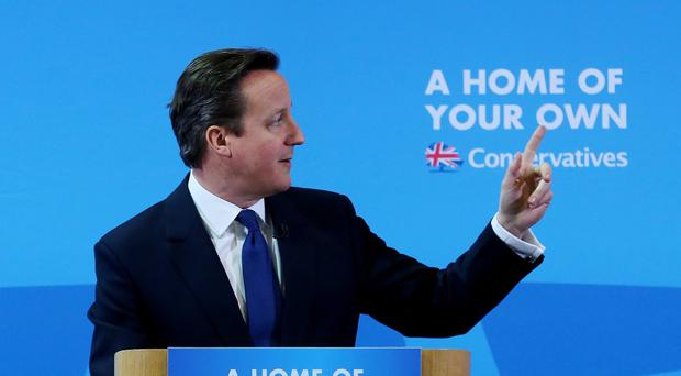 David Cameron urged parties to respect the agreement forged at Stormont