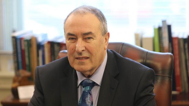 Mitchel McLaughlin said the Parliament Buildings should reflect Northern Ireland's journey
