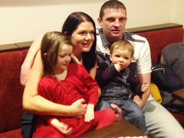 Noel Murphy with his family