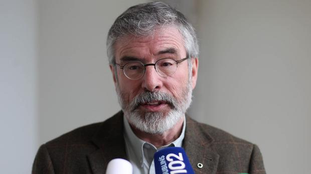 Sinn Fein President Gerry Adams said David Cameron's comments were 'a distortion of recent history'