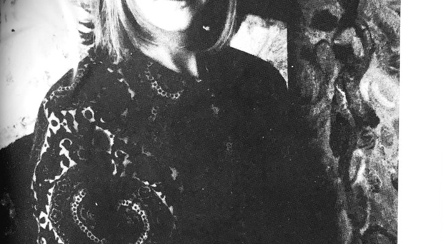 A young Noreen Rice in her studio
