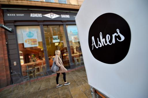 Ashers Bakery Belfast branch