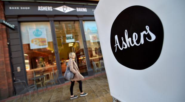Ashers Baking Co on Belfast's Royal Avenue, where Gareth Lee placed the order for the cake at the centre of the court action