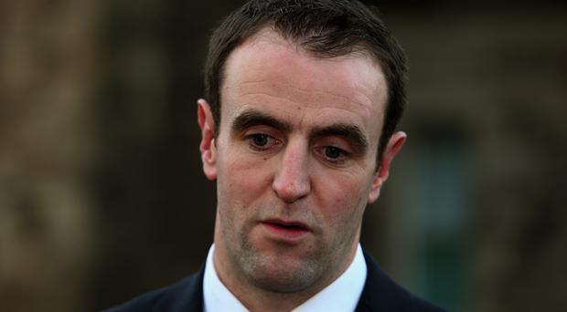 Mark H Durkan said he had no choice but to make swingeing cuts to environmental groups