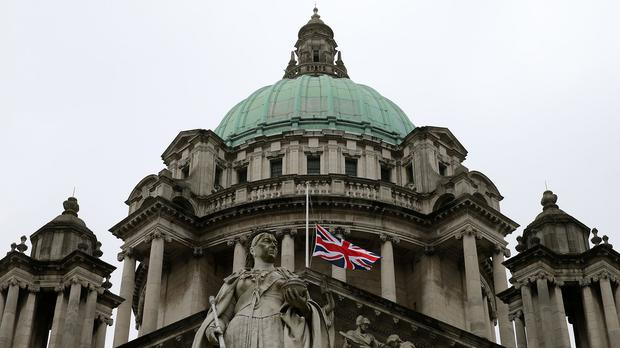 There was strong opposition to the limiting of the union flag being flown over Belfast City Hall two years ago