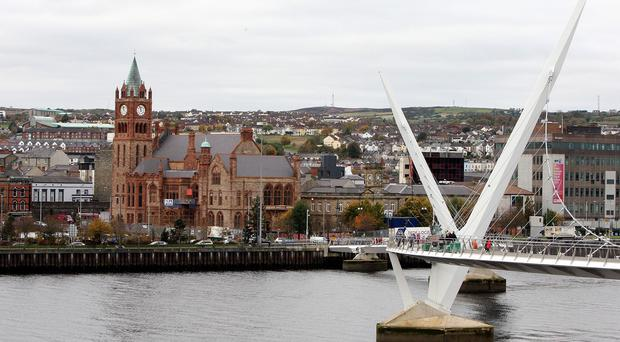 The University of Ulster's Magee campus is in Londonderry