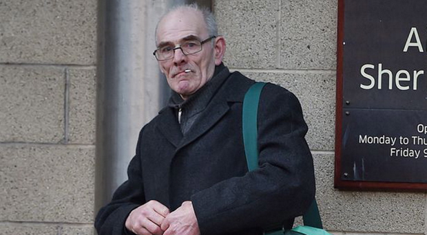 Leonard McAuley from Ballymena who has been jailed for 17 months for a series of sex attacks which took place in Scotland over 30 years ago