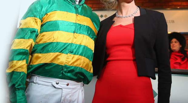 Champion jockey AP McCoy with wife Chanelle