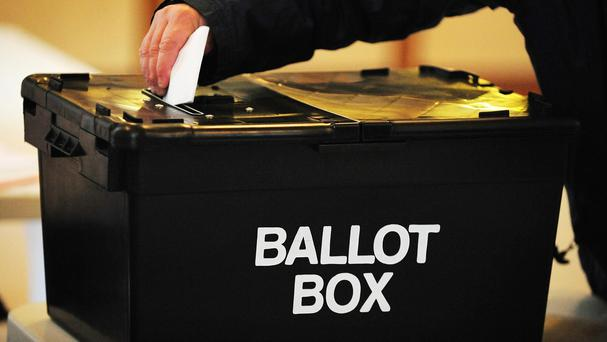 Votes will be cast at two other polling stations in light of a previous flag protest