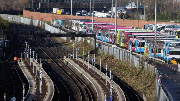 A 24-hour strike over transport cuts will hit rail and bus services