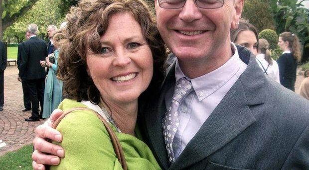 Rev Alan Kilpatrick and his wife Jan