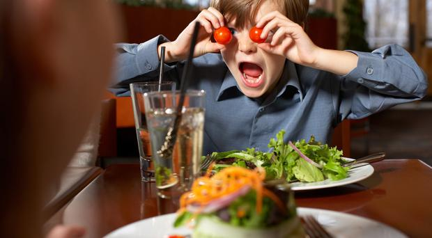 How do you feel about children in restaurants?