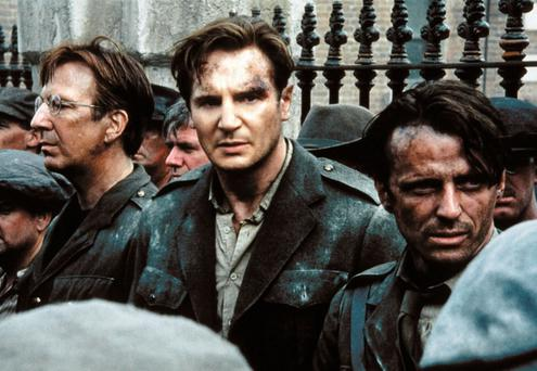 Liam Neeson in Michael Collins