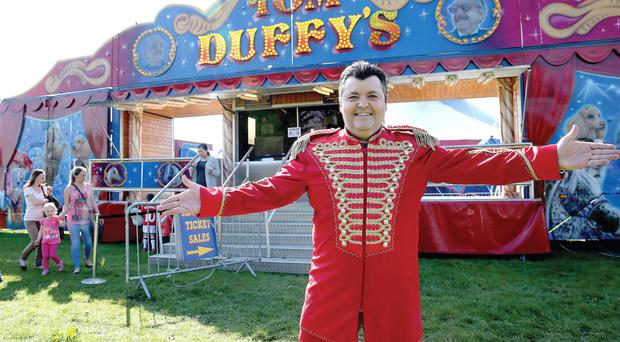 Ringmaster David Duffy