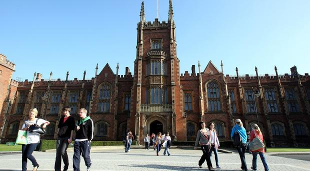 Queen's University in Belfast had been due to host a symposium on the fallout from the Charlie Hebdo massacre