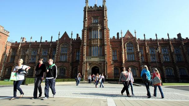 Queen's University Belfast has maintained its lead over Ulster University in UK league tables - but the gap between the two is narrowing