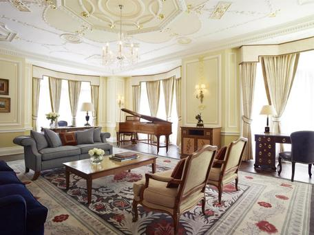 The Royal Suite at Claridges Hotel