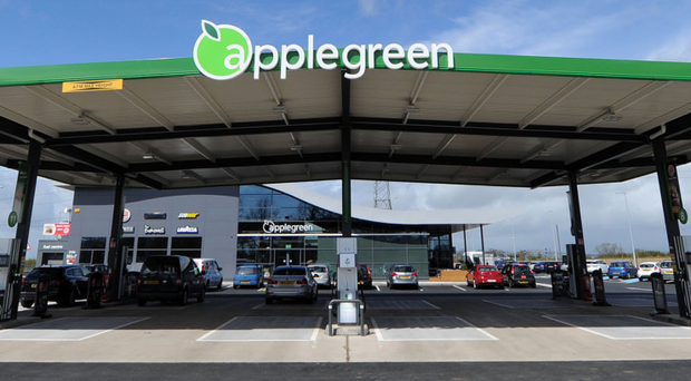 Forecourt retailer Applegreen is acquiring Esso's stake in a fuel terminal at Dublin Port