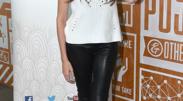 Starring role: singer Nadine Coyle attends the Diana Awards Anti-Bullying event yesterday