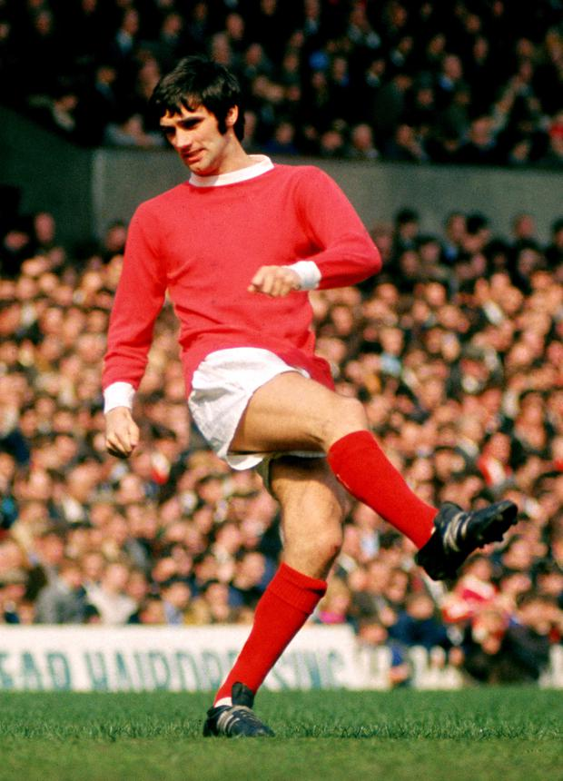 The Best man: George in Manchester United colours