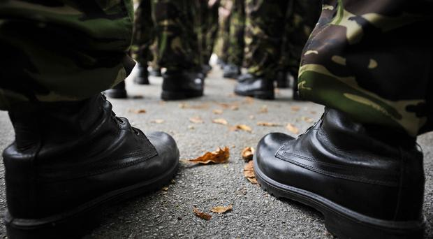 Two IEDs found near a TA base in Northern Ireland have been made safe by Army Technical Officers