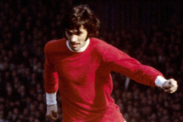George Best in his Manchester United days