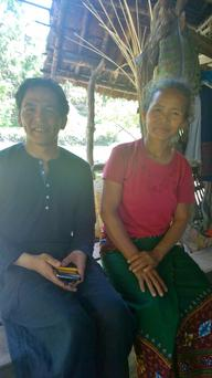 John Hodge and his mum Maile reunited in Nepal after 30 years