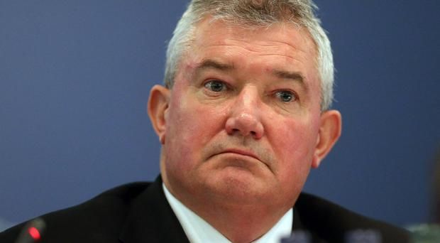 Bank of Ireland chief executive Richie Boucher gave evidence to the Oireachtas Banking Inquiry