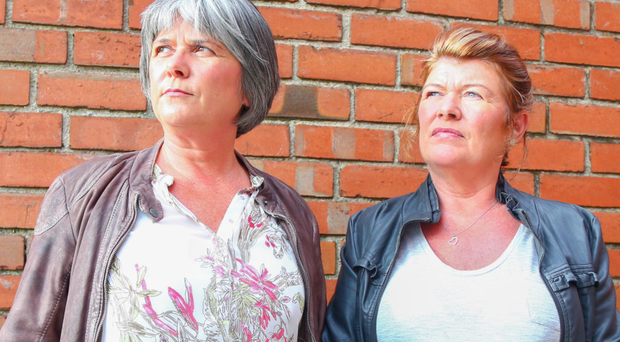 Robert McCartney's sisters Catherine (left) and Paula were interviewed by our reporter yesterday