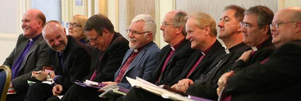 Delegates at the General Synod of the Church of Ireland at Armagh City Hotel
