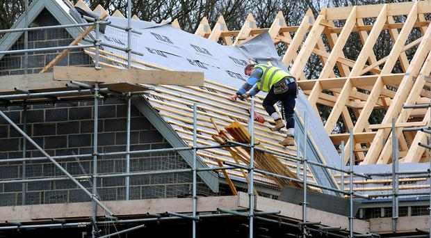 The National House Building Council said that 40,281 new homes were registered between January and March