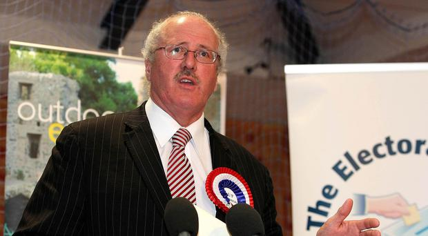 Jim Shannon romped home with a massive 15,053 votes