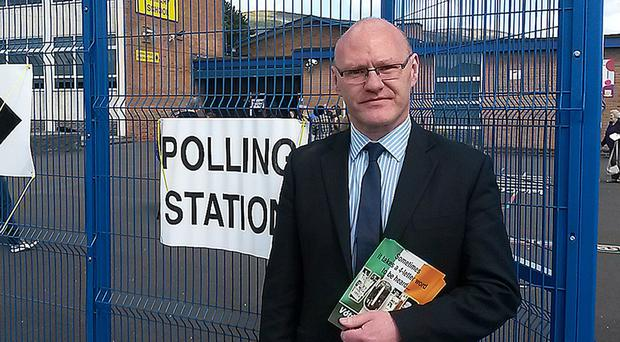 Paul Maskey won for Sinn Fein in West Belfast