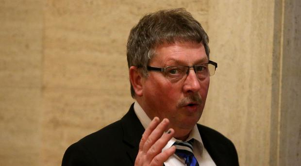 Sammy Wilson has held the seat for 10 years