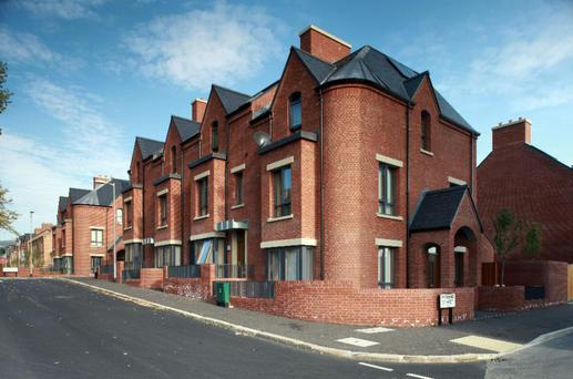 The Parkside scheme on Belfast's Limestone Road is Northern Ireland's building project of the year