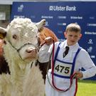 Jack Wilson from Fermanagh leads the way at the Balmoral Show back in 2011
