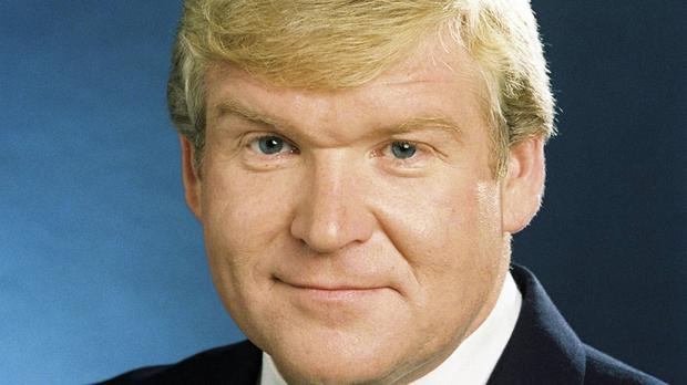 Veteran broadcaster Derek Davis, pictured in 1989, who has died aged 67 (RTE/PA Wire)