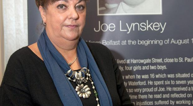Maria Lynskey, niece of Joe Lynskey, who was abducted and murdered by the IRA in 1972