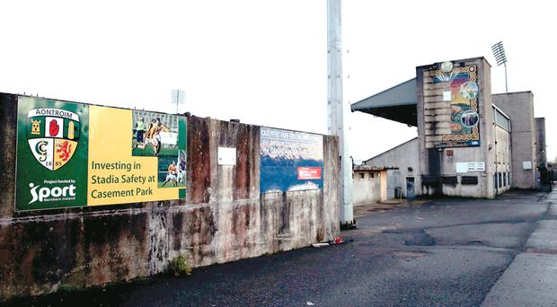 Casement Park is still out of use because of delays in its revamp