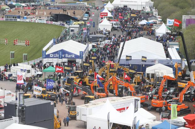Crowds at last day of Balmoral Show