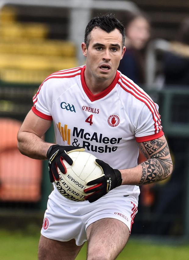 Tyrone star Cathal McCarron is in the team for tomorrow's Ulster Championship clash with Donegal