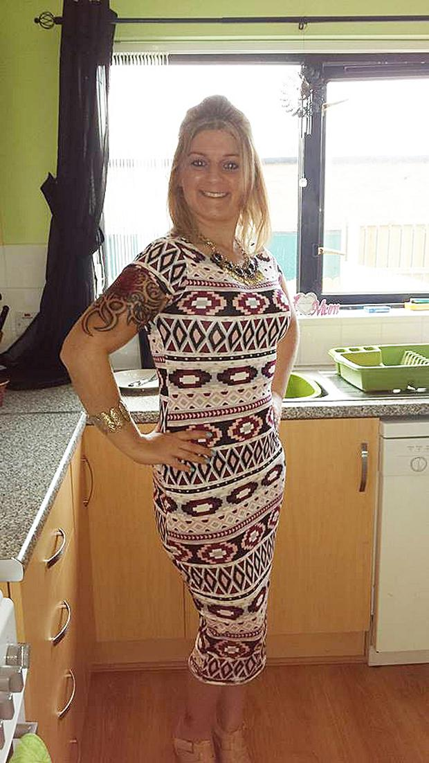 Denise Dunlop was knifed to death in front of her young daughter by Richard McAuley